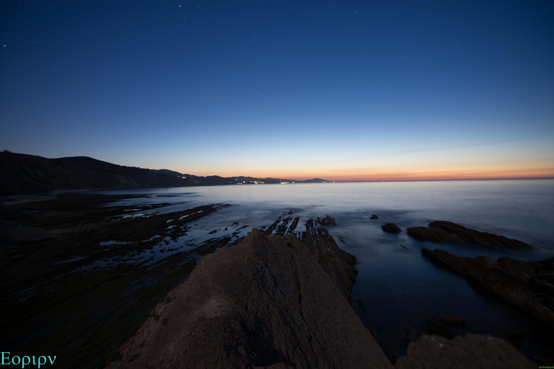 Anochecer en Algorri