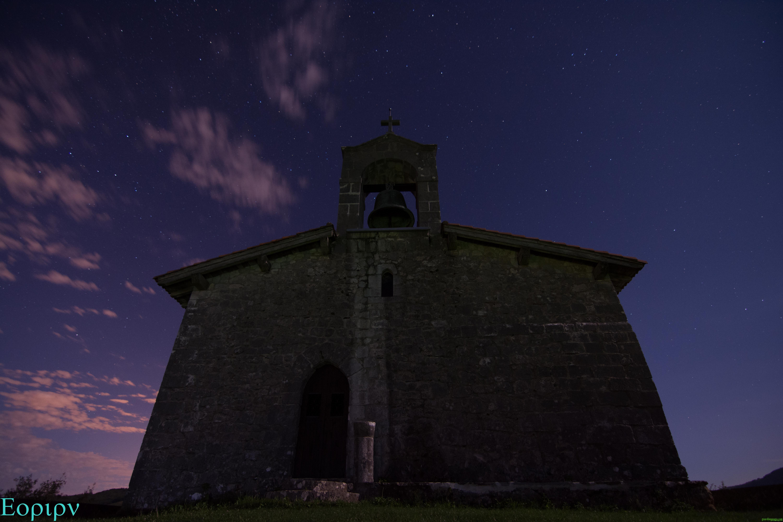 Ermita de Santa Engracia de noche